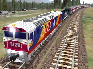 NSW 8120 & 8203 teleported to Marias Pass